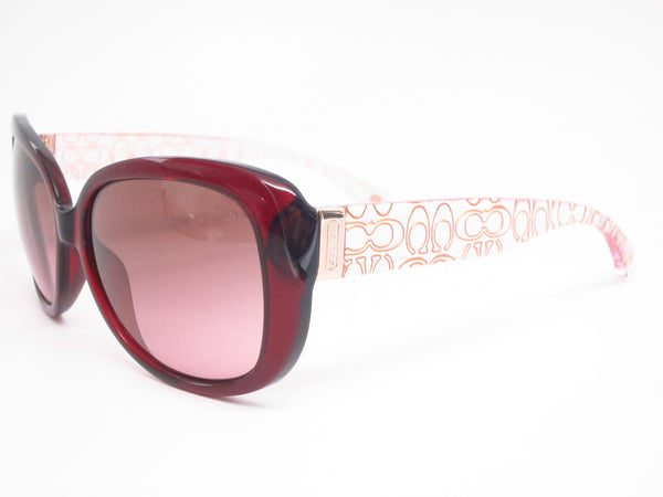 Coach HC 8076 Laurin 5154/14 Burgundy / Pink Crystal Sunglasses - Eye Heart Shades - Coach - Sunglasses - 1