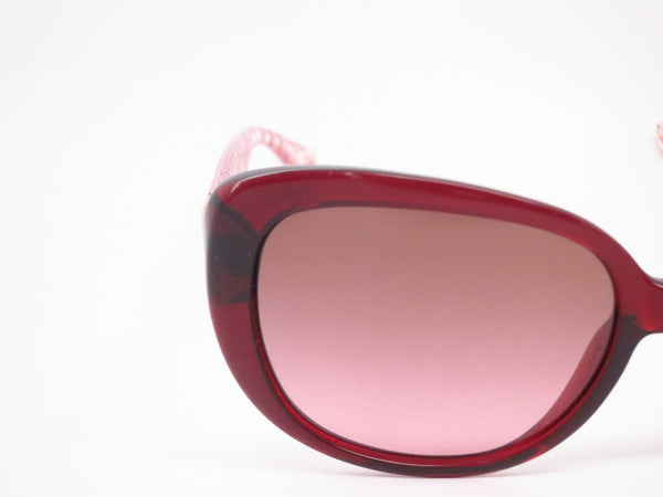 Coach HC 8076 Laurin 5154/14 Burgundy / Pink Crystal Sunglasses - Eye Heart Shades - Coach - Sunglasses - 4