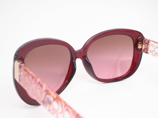 Coach HC 8076 Laurin 5154/14 Burgundy / Pink Crystal Sunglasses - Eye Heart Shades - Coach - Sunglasses - 6