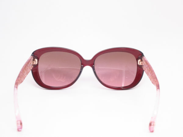 Coach HC 8076 Laurin 5154/14 Burgundy / Pink Crystal Sunglasses - Eye Heart Shades - Coach - Sunglasses - 7