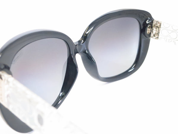HC 8076 Laurin 5151/T3 Black / Crystal Polarized Sunglasses - Eye Heart Shades - Coach - Sunglasses - 6