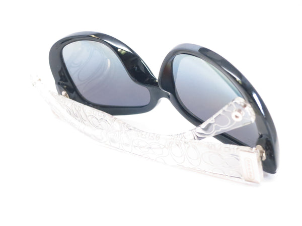 HC 8076 Laurin 5151/T3 Black / Crystal Polarized Sunglasses - Eye Heart Shades - Coach - Sunglasses - 8