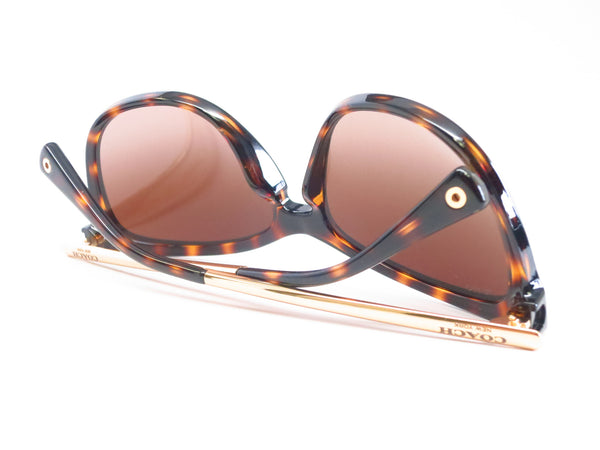 Coach HC 8084 Celia 5170/13 Dark Tortoise / Gold Sunglasses - Eye Heart Shades - Coach - Sunglasses - 10