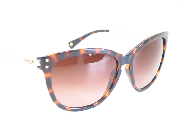 Coach HC 8084 Celia 5170/13 Dark Tortoise / Gold Sunglasses - Eye Heart Shades - Coach - Sunglasses - 3