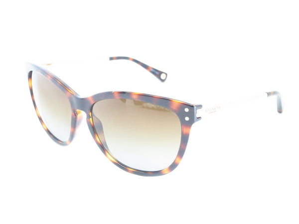 Coach HC 8084 Celia 5170/T5 Dark Tortoise / Gold Polarized Sunglasses - Eye Heart Shades - Coach - Sunglasses - 1