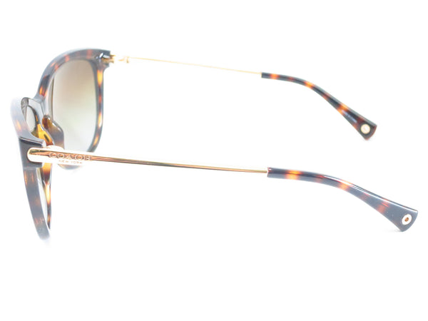 Coach HC 8084 Celia 5170/T5 Dark Tortoise / Gold Polarized Sunglasses - Eye Heart Shades - Coach - Sunglasses - 5