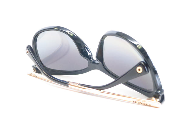 Coach HC 8084 Celia 5180/T3 Black / Gold Polarized Sunglasses - Eye Heart Shades - Coach - Sunglasses - 11