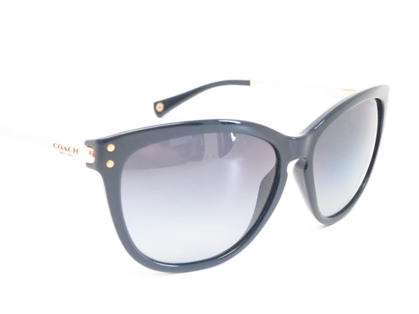 Coach HC 8084 Celia 5180/T3 Black / Gold Polarized Sunglasses - Eye Heart Shades - Coach - Sunglasses - 3