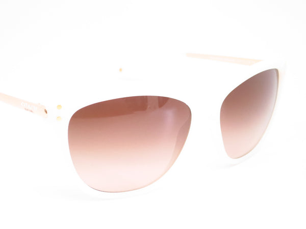 Coach HC 8084 Celia 5181/13 Milky White / Gold Sunglasses - Eye Heart Shades - Coach - Sunglasses - 3
