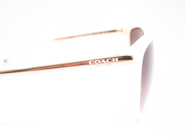 Coach HC 8084 Celia 5181/13 Milky White / Gold Sunglasses - Eye Heart Shades - Coach - Sunglasses - 4