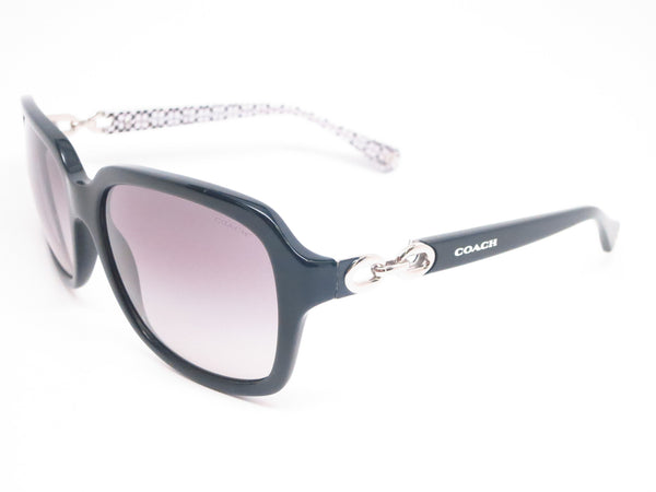 Coach HC 8104 Ashley 5214/11 Black/Black White Signature Sunglasses - Eye Heart Shades - Coach - Sunglasses - 1