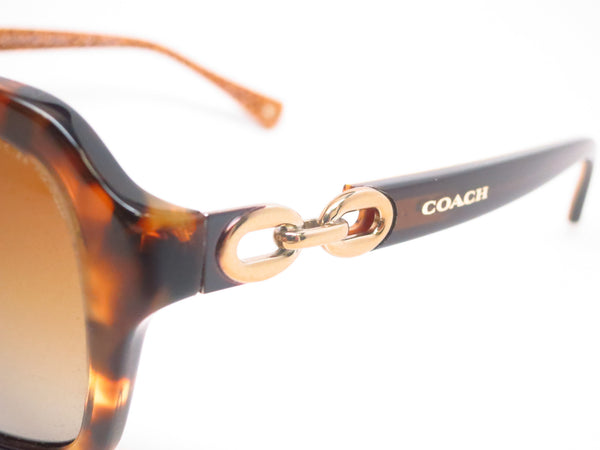 Coach HC 8104 Ashley 5230/T5 Spotty Tortoise / Brown Gold Signature Polarized Sunglasses - Eye Heart Shades - Coach - Sunglasses - 3