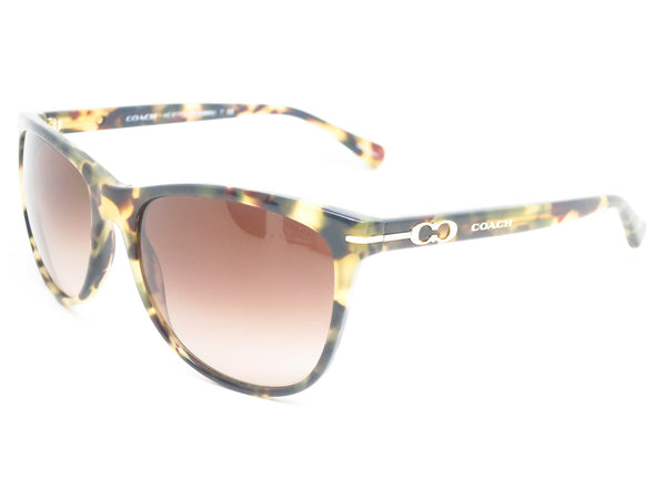 Coach HC 8117 Blakely 5093/13 Dark Vintage Tortoise Sunglasses - Eye Heart Shades - Coach - Sunglasses - 1