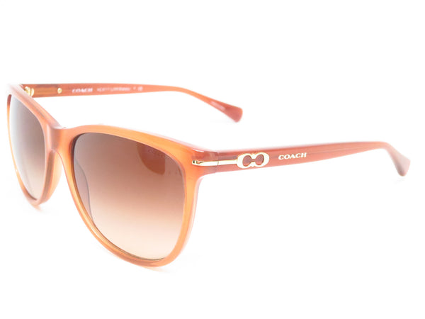 Coach HC 8117 Blakely 5251/13 Milky Saddle Sunglasses - Eye Heart Shades - Coach - Sunglasses - 1