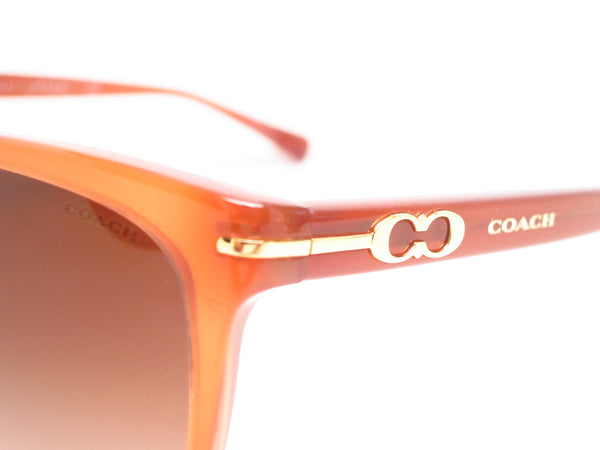 Coach HC 8117 Blakely 5251/13 Milky Saddle Sunglasses - Eye Heart Shades - Coach - Sunglasses - 3