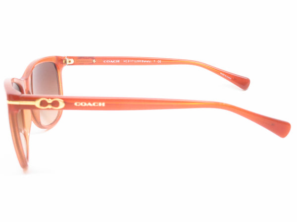 Coach HC 8117 Blakely 5251/13 Milky Saddle Sunglasses - Eye Heart Shades - Coach - Sunglasses - 5