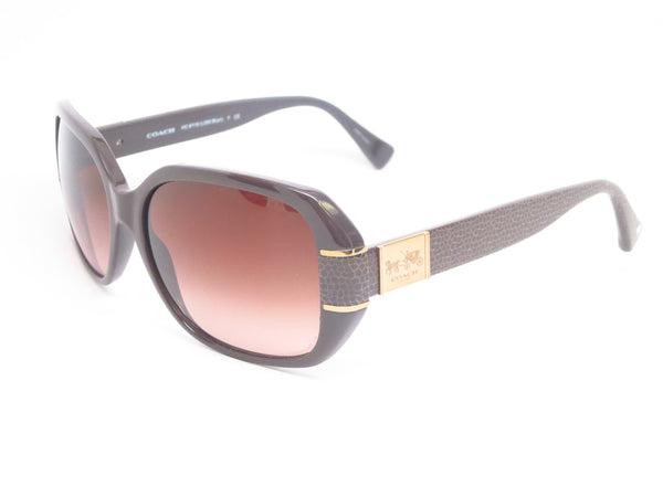 Coach HC 8119 Bryn 5256/13 Chocolate Sunglasses - Eye Heart Shades - Coach - Sunglasses - 1