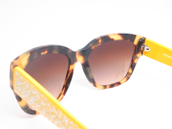 Coach HC 8139 5283/13 Tokyo Tortoise/Yellow Sunglasses - Eye Heart Shades - Coach - Sunglasses - 6