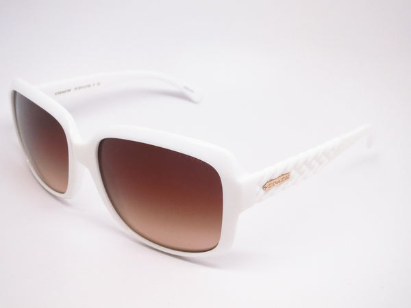 Coach HC 8141 5199/13 White Sunglasses - Eye Heart Shades - Coach - Sunglasses - 1