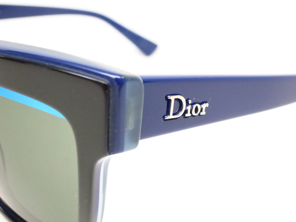 Dior Graphic 3883N Black Blue Green Sunglasses - Eye Heart Shades - Dior - Sunglasses - 3