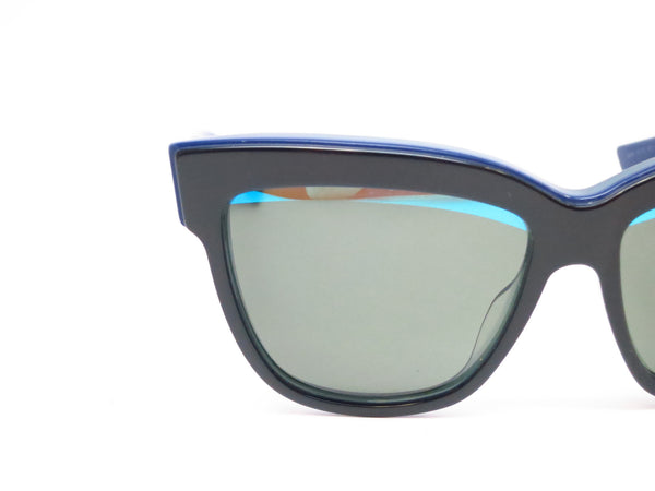 Dior Graphic 3883N Black Blue Green Sunglasses - Eye Heart Shades - Dior - Sunglasses - 4