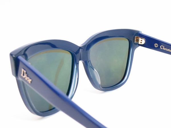 Dior Graphic 3883N Black Blue Green Sunglasses - Eye Heart Shades - Dior - Sunglasses - 6
