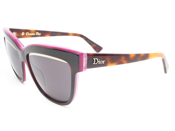 Dior Graphic 3C45S Havana Plum Pink Sunglasses - Eye Heart Shades - Dior - Sunglasses - 1