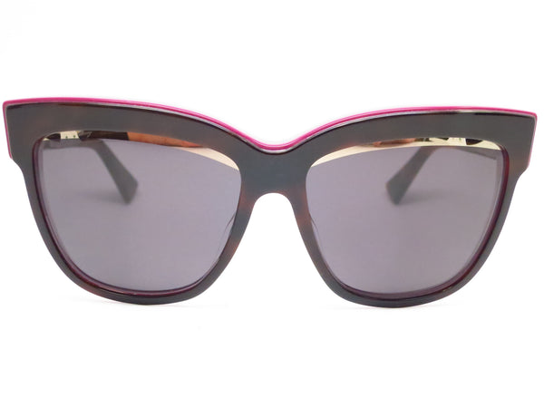 Dior Graphic 3C45S Havana Plum Pink Sunglasses - Eye Heart Shades - Dior - Sunglasses - 2