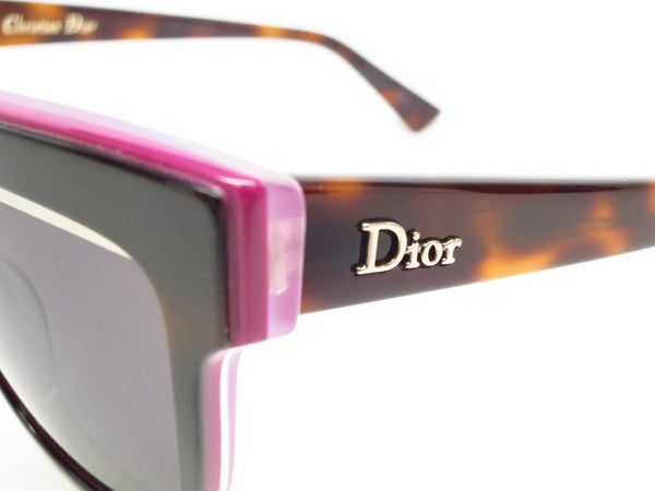 Dior Graphic 3C45S Havana Plum Pink Sunglasses - Eye Heart Shades - Dior - Sunglasses - 3