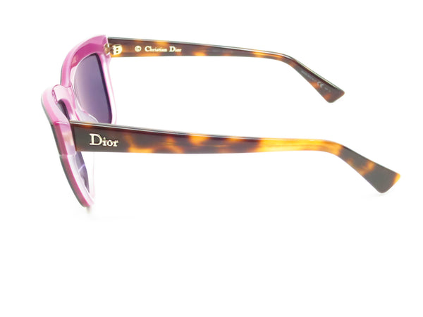 Dior Graphic 3C45S Havana Plum Pink Sunglasses - Eye Heart Shades - Dior - Sunglasses - 5