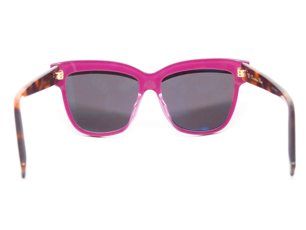 Dior Graphic 3C45S Havana Plum Pink Sunglasses - Eye Heart Shades - Dior - Sunglasses - 7