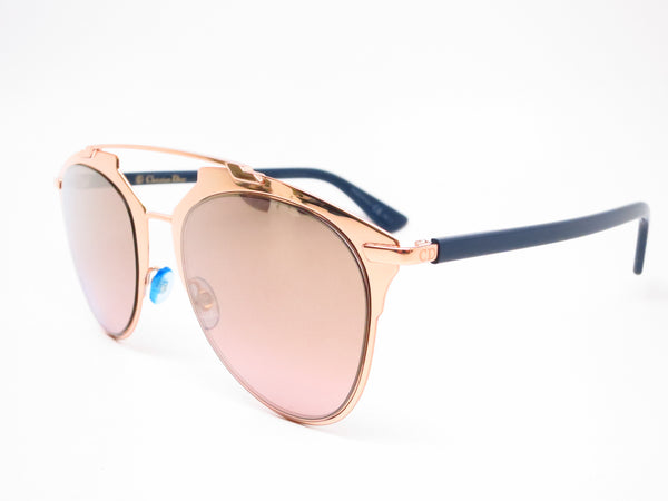 Dior Reflected 3210R Copper Gold Blue Sunglasses - Eye Heart Shades - Dior - Sunglasses - 1