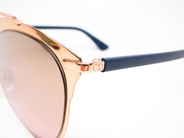 Dior Reflected 3210R Copper Gold Blue Sunglasses - Eye Heart Shades - Dior - Sunglasses - 3