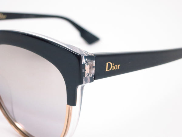 Dior Sight 1 K4X96 Black Crystal Black Sunglasses - Eye Heart Shades - Dior - Sunglasses - 3