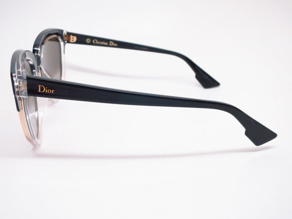 Dior Sight 1 K4X96 Black Crystal Black Sunglasses - Eye Heart Shades - Dior - Sunglasses - 5