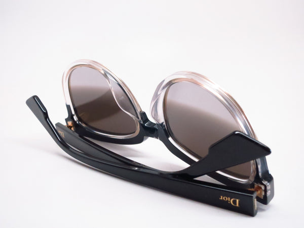Dior Sight 1 K4X96 Black Crystal Black Sunglasses - Eye Heart Shades - Dior - Sunglasses - 8