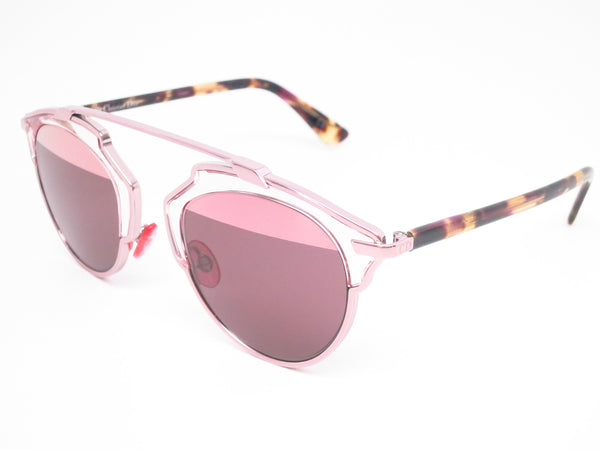 Dior So Real KM98R Light Pink Sunglasses - Eye Heart Shades - Dior - Sunglasses - 1