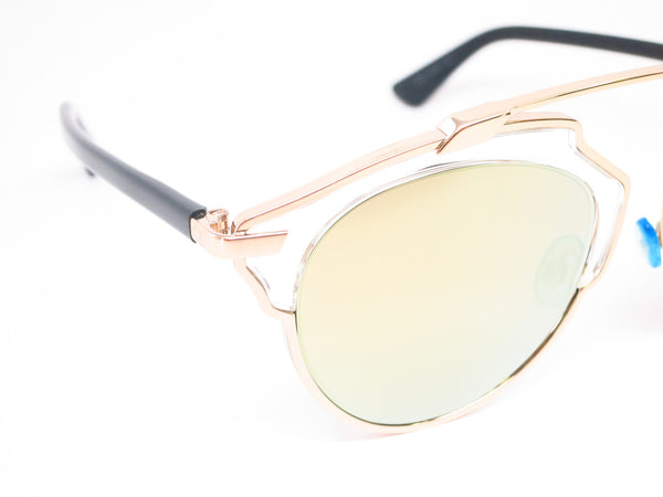 Dior So Real U5SK1 Gold Sunglasses - Eye Heart Shades - Dior - Sunglasses - 3