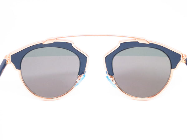 Dior So Real U5WZJ Blue with Rose Gold Sunglasses - Eye Heart Shades - Dior - Sunglasses - 10