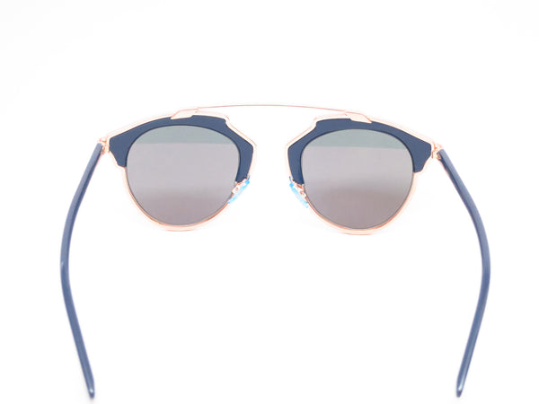 Dior So Real U5WZJ Blue with Rose Gold Sunglasses - Eye Heart Shades - Dior - Sunglasses - 11