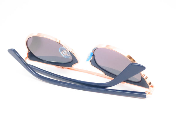 Dior So Real U5WZJ Blue with Rose Gold Sunglasses - Eye Heart Shades - Dior - Sunglasses - 12