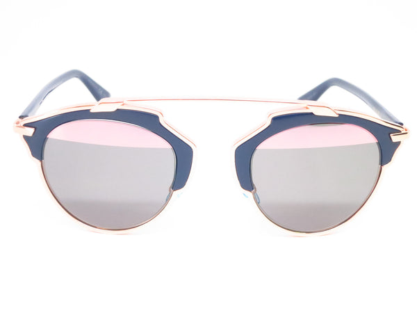 Dior So Real U5WZJ Blue with Rose Gold Sunglasses - Eye Heart Shades - Dior - Sunglasses - 2
