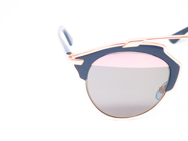 Dior So Real U5WZJ Blue with Rose Gold Sunglasses - Eye Heart Shades - Dior - Sunglasses - 3