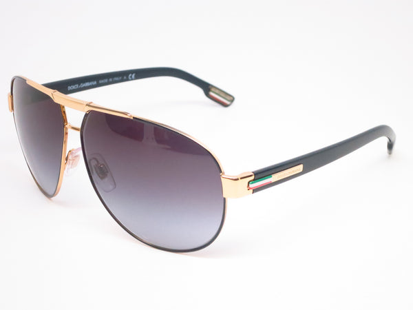 Dolce & Gabbana DG 2099 1081/8G Gold/Black Sunglasses - Eye Heart Shades - Dolce & Gabbana - Sunglasses - 1