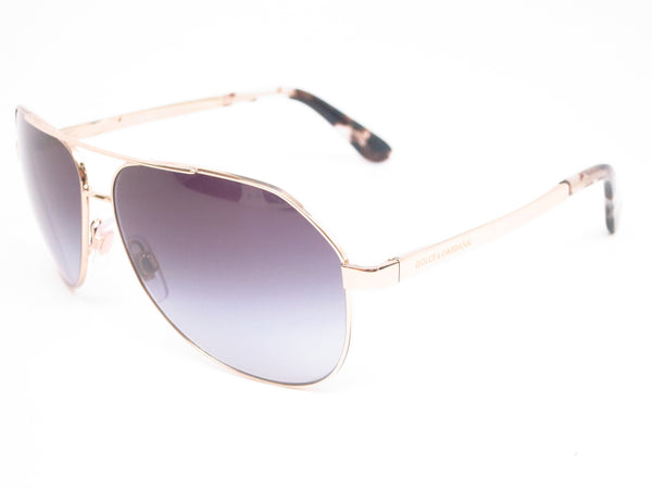 Dolce & Gabbana DG 2144 488/8G Pale Gold Sunglasses - Eye Heart Shades - Dolce & Gabbana - Sunglasses - 1