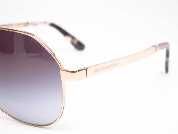 Dolce & Gabbana DG 2144 488/8G Pale Gold Sunglasses - Eye Heart Shades - Dolce & Gabbana - Sunglasses - 4