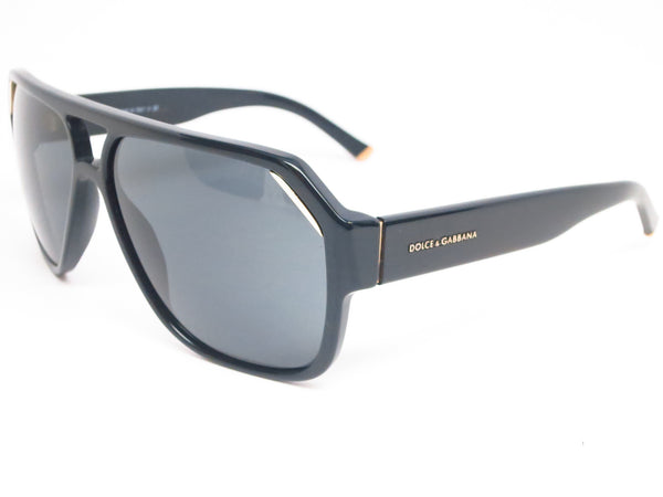 Dolce & Gabbana DG 4138 501/87 Shiny Black Sunglasses - Eye Heart Shades - Dolce & Gabbana - Sunglasses - 1