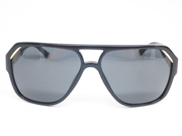 Dolce & Gabbana DG 4138 501/87 Shiny Black Sunglasses - Eye Heart Shades - Dolce & Gabbana - Sunglasses - 2