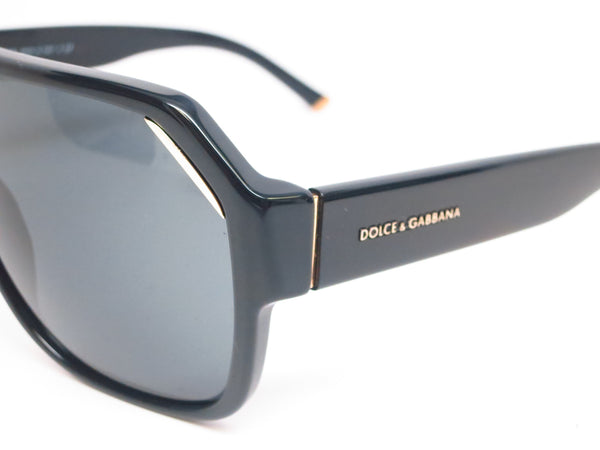 Dolce & Gabbana DG 4138 501/87 Shiny Black Sunglasses - Eye Heart Shades - Dolce & Gabbana - Sunglasses - 4