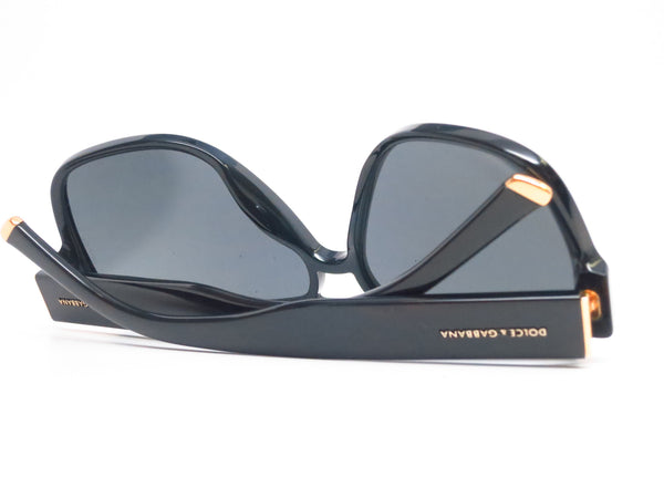 Dolce & Gabbana DG 4138 501/87 Shiny Black Sunglasses - Eye Heart Shades - Dolce & Gabbana - Sunglasses - 9